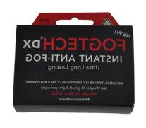 Fogtech DX Anti-Fog Wipes