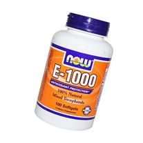 Now Foods E-1000, Soft-gels, 100-Count