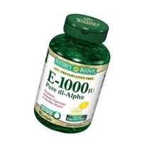 Nature's Bounty  E 1000IU, Pure d1-Alpha, 60 Softgels