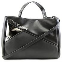 Versace Jeans Couture E1VMBBN4 Womens Leather Satchel
