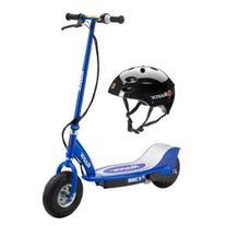 Razor E300 Electric Motorized Scooter  & Youth Helmet