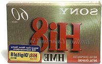 SONY E6-60 HME Metal Evaporated Videocassette