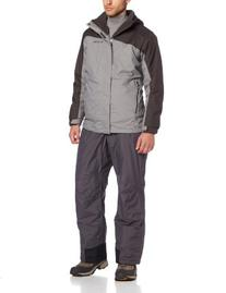 Columbia Men's Eager Air II Interchange Jacket, Dark Compass