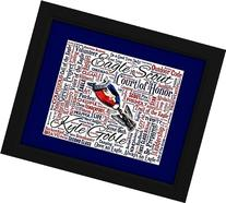 Eagle Scout 16x20 Art Piece - Beautifully matted and framed