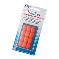 EAR PLUGS KIDS SOFT SILICONE 6 PR