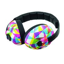 Baby Banz earBanZ Infant Hearing Protection, Geo Print, 3+