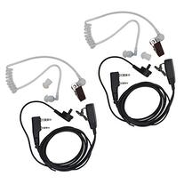 Tenq® 2-pin Covert Acoustic Tube Earpiece Headset for
