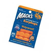 Mack's Moldable Silicone Ear Plugs - Kids Size, 6 Pair with