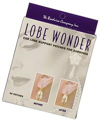 Lobe Wonder Earring Support Patches, 60-Count