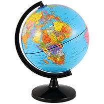 Earth Globe Coin Bank - Beautiful Cartography Map & Piggy