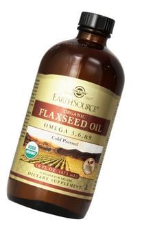 Solgar Earth Source Organic Flaxseed Oil 16 fl oz  Liquid