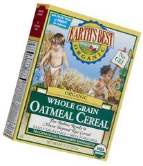 Earths Best 39098-6pack Earths Best Oatmeal Cereal -6x8 Oz