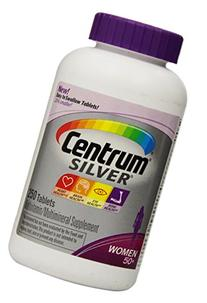 New! Easier to Swallow Centrum Silver Women's 50+ 250