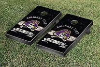 East Carolina Pirates Cornhole Game Set Banner Vintage
