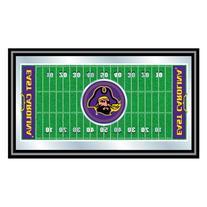 East Carolina University Framed Football Field Mirror