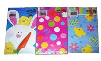 Easter 6 x 3.5 x 10.5 Inch Gift Sacks, 6-Pieces, ASSORTED -