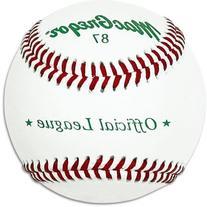 MacGregor 87 Official Split Baseball, Leather
