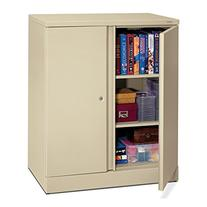 """Easy-to-Assemble 42-3/4"""""""" High Storage Cabinet, 36w x 18d,"""
