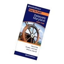 Rand McNally Delaware - Maryland Easy to Fold