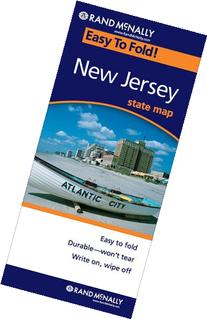Rand McNally Easy To Fold: New Jersey