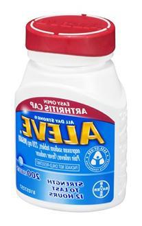 Aleve Easy Open Arthritis Cap Pain Reliever/Fever Reducer