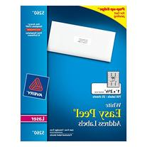Avery Easy Peel Address Labels for Laser Printers, 1 x 2.625