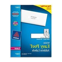 Avery Easy Peel Laser Address Labels AVE5161