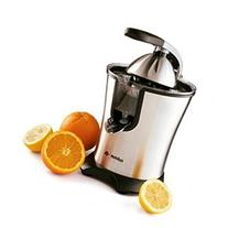Eurolux Easy to Use Stainless-steel Motorized Citrus Juicer with Handle and Cone Lid - 160 watts Pow