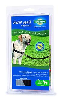 PetSafe Easy Walk Harness,  Large, BLACK/SILVER for Dogs