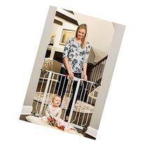 Regalo Easy Step Walk Through Baby Gate Includes Pressure