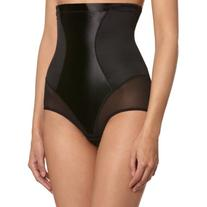 Maidenform Flexees Women's Shapewear Hi-Waist Brief, Black,