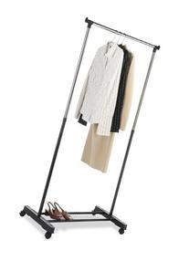 Whitmor  Ebony Chrome Collection Adjustable Garment Rack