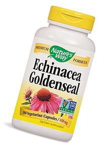 Natures Way Echinacea Goldenseal Capsule, 450 Mg - 180 per