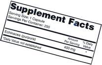 Eden Pond Echinacea Value Supply Supplement, 250 Count