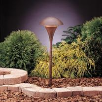 Kichler Lighting 15236TZT Eclipse 1-Light 120-Volt Path &