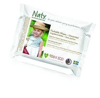 Eco by Naty Thick Flushable Baby Wipes for Sensitive Skin,