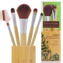 Eco Tools Bamboo Cup Brush Set 5 Piece 1 set
