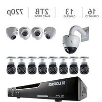 Lorex 16 Channel HD 720p Security System with 2TB HDD, 12 HD