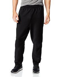 Hanes Men's EcoSmart Fleece Sweatpant, Black, 3X-Large