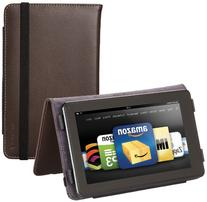 Marware Eco-Vue Genuine Leather Case Cover for Kindle Fire,