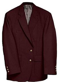 Ed Garments Men's Classic Two Button Single Breasted Blazer