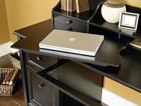Edge Water Computer Desk in Estate Black Finish