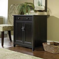 Sauder Edge Water Utility Cart/Free Standing Cabinet, Estate