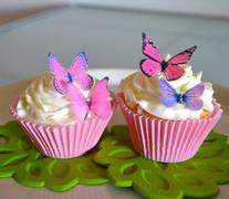 Edible Butterflies© - Small Assorted Pink and Purple Set of