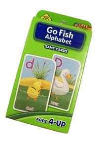 School Zone Educational Flash Cards ~ Go Fish Alphabet