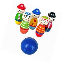 Educational Toys,Baomabao Children Toys Wooden Bowling