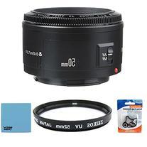 Canon EF 50mm f/1.8 II Camera Lens w/ 52mm Multicoated UV