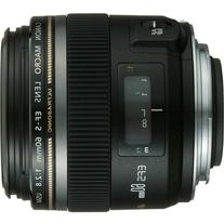 Canon EF-S 60mm f/2.8 Macro USM Fixed Lens for Canon SLR
