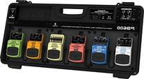 Effects Pedal Board With Power Supply
