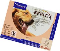 Virbac Effitix Flea/Tick Topical Solution, Large Dog, 3
